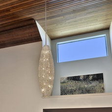 Contemporary Entry by Lighting Outlet NY