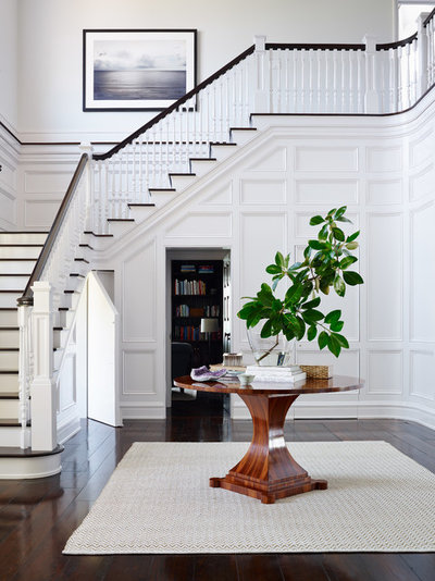 Victorian Entry by Andrew Howard Interior Design