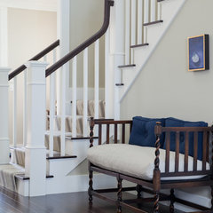 traditional staircase by Treehouse Design, Inc.