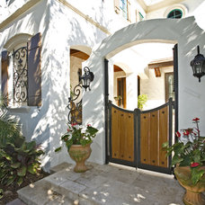Mediterranean Entry by Jeffery M Wolf General Contractor, Inc.