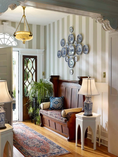 Traditional Entry by Sarah Hermans Interiors