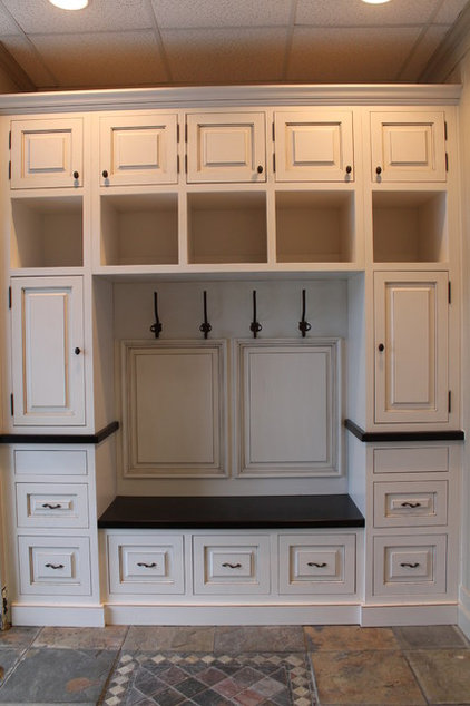 Traditional Entry by Carolina Hertiage Cabinetry