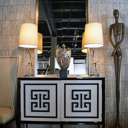 Showroom Pieces - New credenza on our floor!