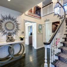Contemporary Entry by Tracie Butler Interior Design