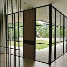 Modern Entry by Tim Cuppett Architects