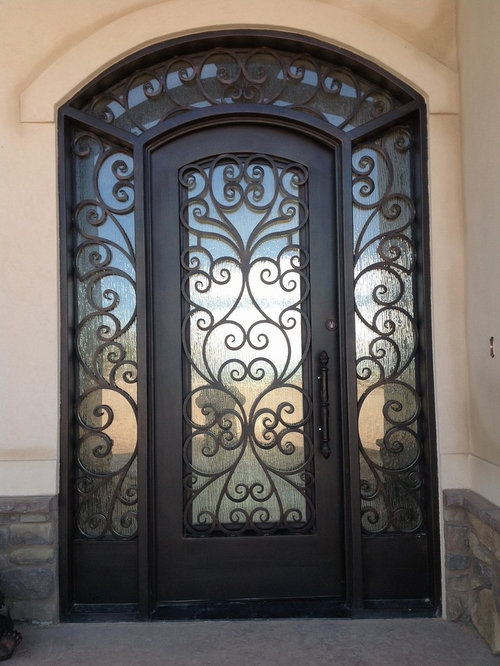 Iron Entry Doors Home Design Ideas Pictures Remodel And