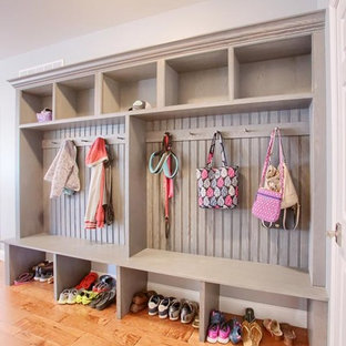 Sinking Spring, PA- Transitional Gray Mudroom