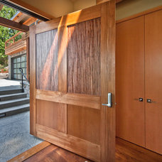 Contemporary Entry by Six Walls Interior Design