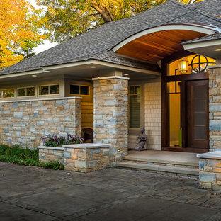 Front door - craftsman front door idea in Minneapolis