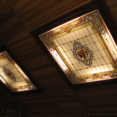 traditional skylights by Casa Loma Doors & Art glass