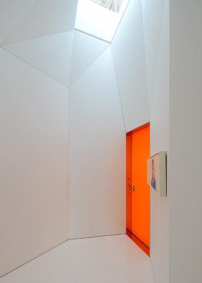 Moderno Entrada by David Hotson Architect