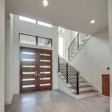 Modern Entry by Classic Urban Homes