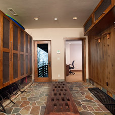 Contemporary Entry by Interiors etc.