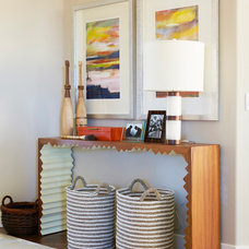 Contemporary Entry by Alice Lane Home Collection