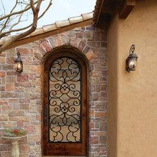 Modern Entry by Somerset Hills Doors & Architectural Millwork, LLC