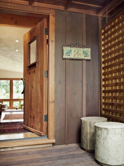 Board And Batten Front Door Home Design Ideas Pictures