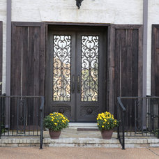 Traditional Entry by Irondoors.com