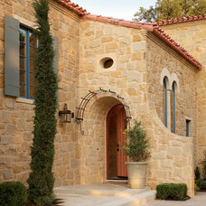Mediterranean Entry by Michael G Imber, Architects