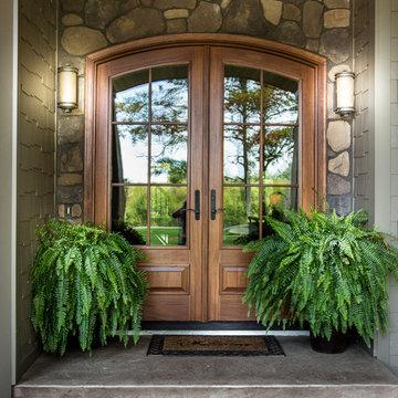 Southern Minnesota Rustic Craftsman Custom Home #202