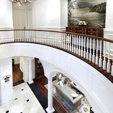 Traditional Entry by JAUREGUI Architecture Interiors Construction