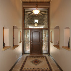 Traditional Entry by Koetje Builders Inc
