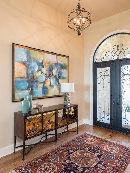 Foyer Layout Questions : Mediterranean entryway design ideas remodels photos