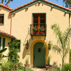 Mediterranean Exterior by Realogics Sotheby's International Realty