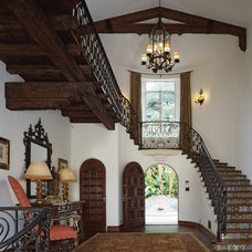 Mediterranean Entry by Carawan Architecture