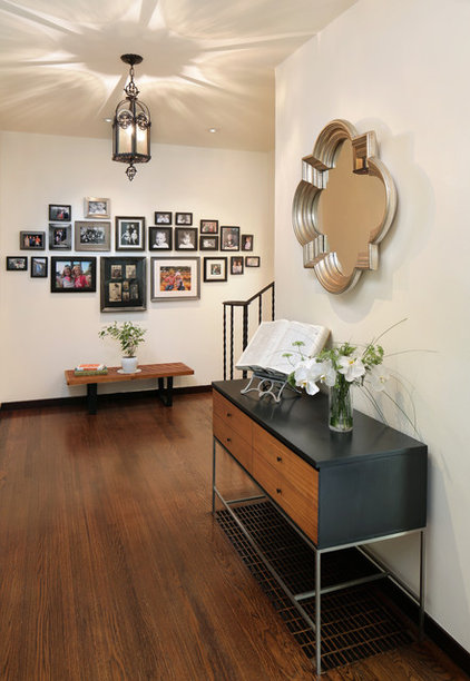 Midcentury Entry by Melinamade Interiors