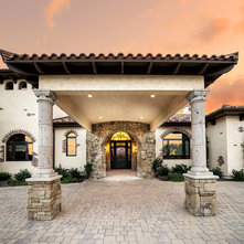 Mediterranean Entry By C Reese Architectural Design