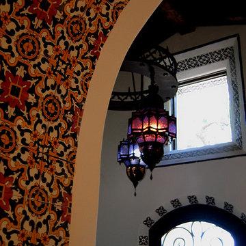 Spanish Style Entry Foyer