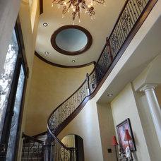 Mediterranean Entry Spiral staircase