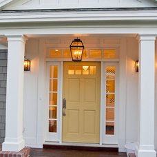 Traditional Entry by Tiek Built Homes