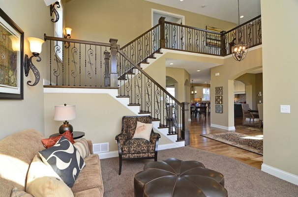 Traditional Entry by Gonyea Homes & Remodeling