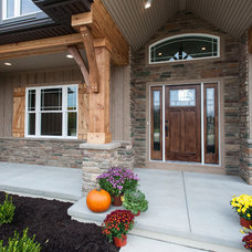 Traditional Entry by Artisan Building and Design, LLC