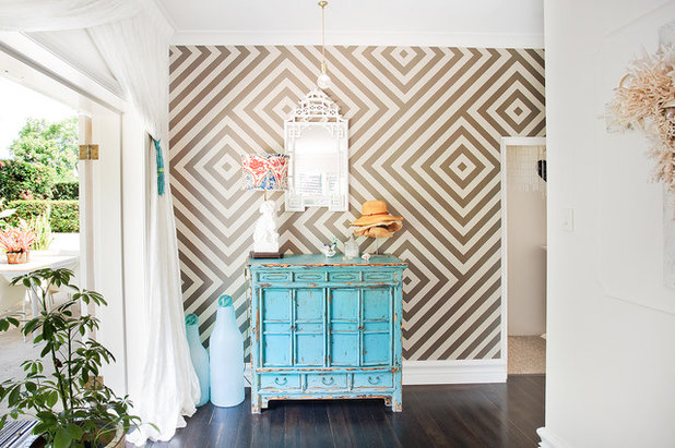 Eclectic Entry by Bronwyn Poole of Touch Interiors