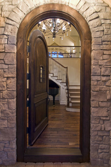 Rustic Entry by Schrader & Companies
