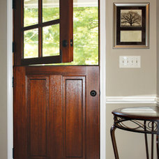 Farmhouse Entry by DSA Master Crafted Doors