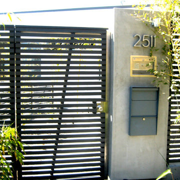 Stainless Steel Gate & Motor Hollywood Hills