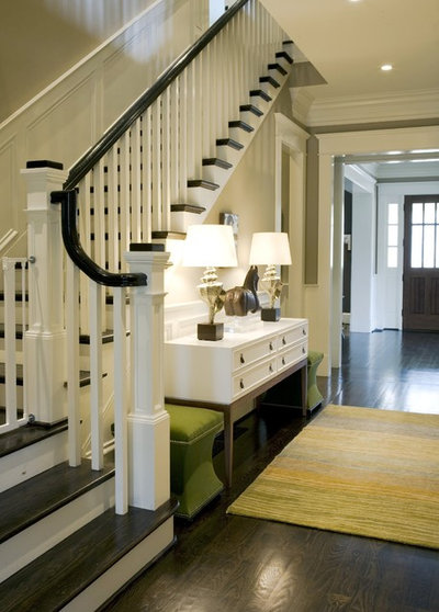 Traditional Entry by Brian Watford Interiors