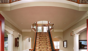Stair Railings, Archways, Wainscoting