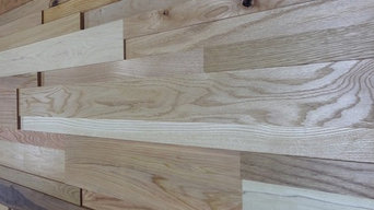 StakWood™ - Three Dimensional Wood Wall Cladding System