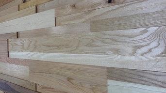 StakWood™ - Three Dimensional Wood Wall Cladding System