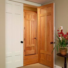Traditional Entry by Stallion Doors and Millwork