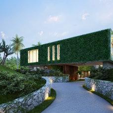 Modern Entry by Kobi Karp Architecture and Interior Design