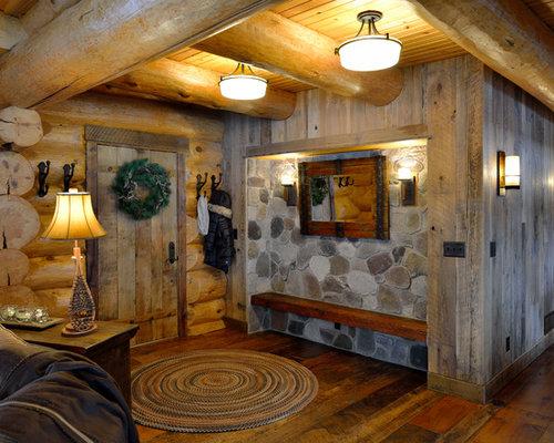 Houzz Rustic Foyer : Rustic foyer houzz