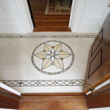 Traditional Entry by Art Mosaics of the Carolinas, LLC