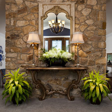 Traditional Entry by StarrMiller Interior Design, Inc.