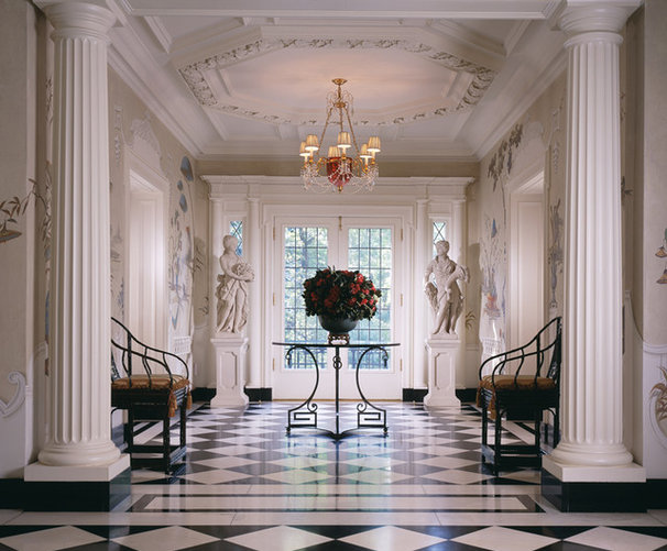 Traditional Entry by GIL WALSH INTERIORS
