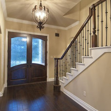 Traditional Entry by Allison Jaffe Interior Design LLC